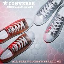 【CONVERSE】ALL STAR S GLOSSYMETALLIC OXグロッシーメタリック