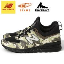 トリプルコラボ☆NEW BALANCE ×GREGORY×BEAMS PLUS ML 574 GBL