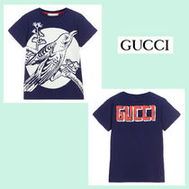 ☆GUCCI☆ Glow-in-the-Dark・ボーイズTシャツ♪ 大人OK・12A!!