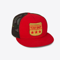 "【SAINT LAURENT】""YEAH BABY"" TRUCKER HAT【即発送】"