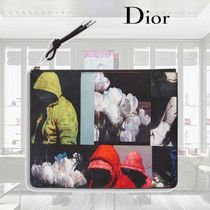 【18SS】Dior/ナイロンポーチ/プリント入り(小)