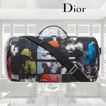 【18SS】Dior/ナイロンダッフルバッグ/プリント入り
