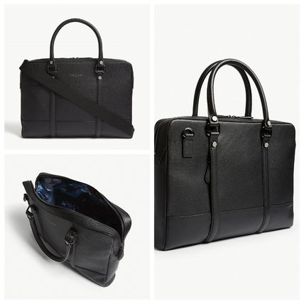 【TED BAKER】 Awol grained leather☆ドキュメントバッグBlack