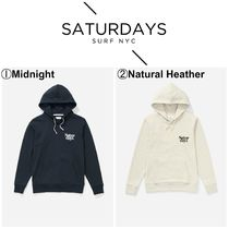 【SATURDAYS NYCz☆新商品☆Ditch Miller Black Chest Hoodie