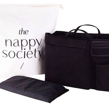 The Nappy Society マザーズバッグ バッグの中が機能的に片付く★コンパクト★バッグinバッグ(M)(10)
