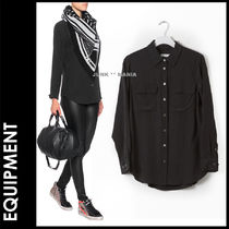 ★3-7日着/追跡付【即発・EQUIPMENT】SLIM SIGNATURE/True Black