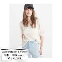 Abercrombie & Fitch 新作ロゴ長袖Tシャツ
