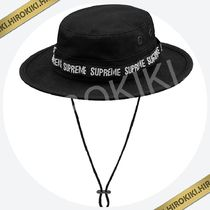 【18SS】Supreme Military Boonie Hat ミリタリー ハット Black