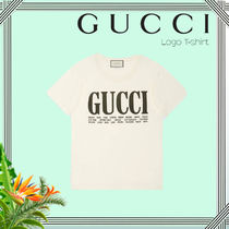 ∴Gucci∴Cities Logo Print T-shirt