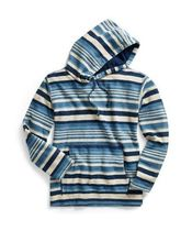 新作★送料関税込★ RRL Striped Indigo Cotton Hoodie