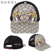 【正規品保証】GUCCI★18春夏★TIGER COATED GG BASEBALL HAT