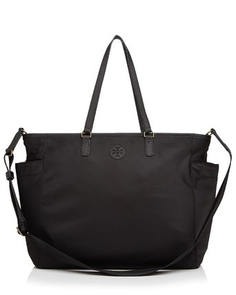 Tory Burch マザーズバッグ ☆Tory Burch☆ SCOUT NYLON BABY TOTE☆ナイロンベビーバッグ