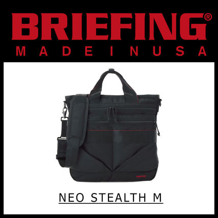 BRIEFING トートバッグ 即発送料込 多機能ヘルメットバッグ BRIEFING NEO STEALTH M