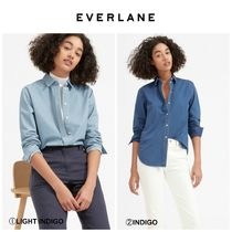 【EVERLANE】最新●日本未入荷●The Relaxed Jean Shirt