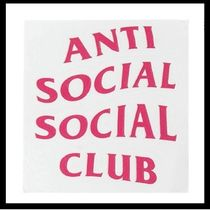 【希少】Anti Social Social Club/Cuttedステッカー【送関込】