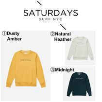 【SATURDAYS NYCz☆新商品☆Bowery Saturdays NYC Sweatshirt