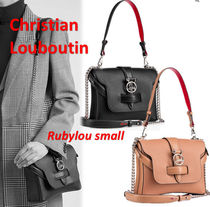 Christian Louboutin Rubylou small ロゴ ショルダー バッグ