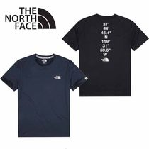THE NORTH FACE〜GRID S/S R/TEE 機能性半袖Tシャツ 4色