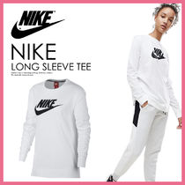 国内即納★NIKE WOMENS LONG-SLEEVE T-SHIRT ロンT★AA3147 100