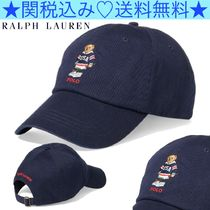 ★Polo Ralph Lauren★Hockey Polo Bear Chino Cap★刺繍入り★