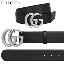 【正規品保証】GUCCI★18春夏★INTERLOCKING G LEATHER BELT