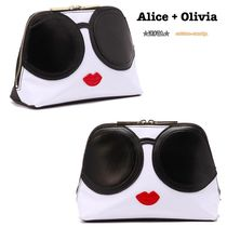 Alice+Olivia(アリスオリビア) メイクポーチ ◎国内発送 Alice+Olivia STACEYFACE  メイクポーチ◎