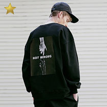 ◇MASSNOUN◇ EQUALITY OVERSIZED スウェットシャツ (M / L)