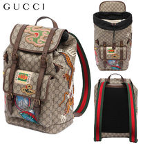 【正規品保証】GUCCI★18春夏★PATCHED GG SUPREME BACKPACK