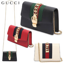 【正規品保証】GUCCI★18春夏★SUPERMINI SYLVIE SHOULDER BAG
