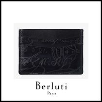 追跡ありで安心☆Berluti Bambou Leather Card Holder
