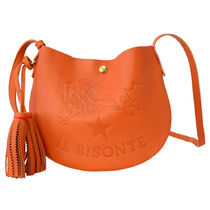 IL BISONTE ショルダーバッグ ポシェット A2665 166 Orange