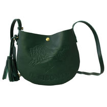 IL BISONTE ショルダーバッグ ポシェット A2665 293 VERDE