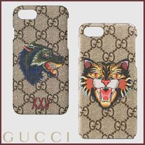 GUCCI(グッチ) プリントiPhone 7 ケース