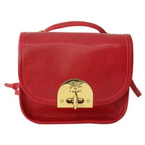 IL BISONTE ショルダーバッグ ポシェット A2707 245 Rosso