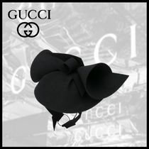 GUCCI フエルト ハット