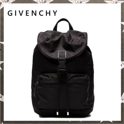GIVENCHY STAR TAPE NYLON BACKPACK ブラック【関税・送料込】