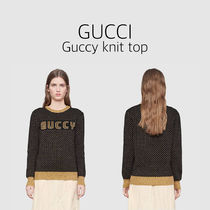 GUCCI(グッチ)☆Guccy knit top☆ニットトップ