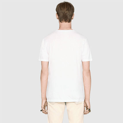 GUCCI Tシャツ・カットソー 大人気!【送料込】18SS★GUCCI★ヴィンテージロゴ Tシャツ 白黒(5)