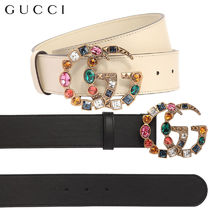 【正規品保証】GUCCI★18春夏★40MM MULTICOLOR BUCKLE BELT