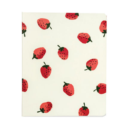 kate spade new york ノート 即納Kate spadeNY strawberries spiral notebook 183248(2)