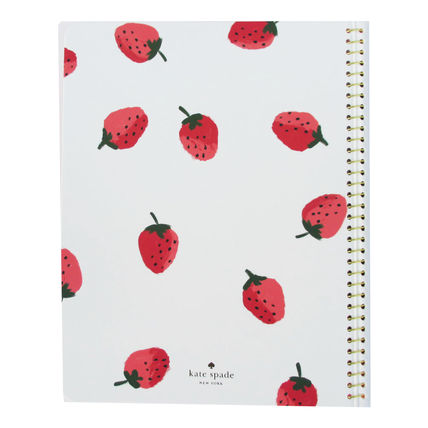 kate spade new york ノート 即納Kate spadeNY strawberries spiral notebook 183248(3)