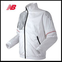 (ニューバランス)UNI CLASSIC ATHLETIC Jacket White NBNM82L713