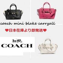 【COACH コーチ】大人気新色☆MINI BLAKE CARRYALL 2way F37635