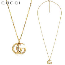 【正規品保証】GUCCI★18春夏★18KT YELLOW GOLD GG NECKLACE