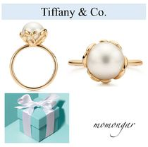 [Tiffany & Co.]新作未入荷♪Olive Pearl Pearl Ring☆18kGold