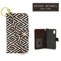 ★Henri Bendel★DALTON PRINTED WRISTLET★IPHONE6・7・8CASE★
