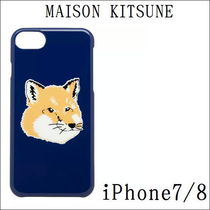 【国内送】★MAISON KITSUNE★iPhone 7/8ケースFOX HEAD