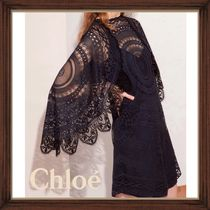★★CHLOE《クロエ》ICONIC NAVY LACE DRESS  送料込み★★