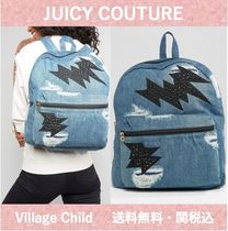 Juicy by Juicy Couturey☆スタッズ デニムバックパック 送関込