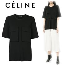 【18SS】大注目!!★CELINE★patch pocket T-shirt
